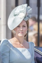 Kate Middleton at Trooping the Colour Ceremony in London 2018/06/09 2