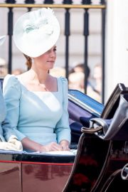 Kate Middleton at Trooping the Colour Ceremony in London 2018/06/09 6