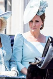Kate Middleton at Trooping the Colour Ceremony in London 2018/06/09 7