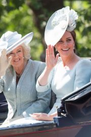 Kate Middleton at Trooping the Colour Ceremony in London 2018/06/09 8