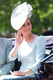 Kate Middleton at Trooping the Colour Ceremony in London 2018/06/09 9