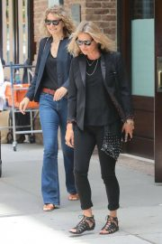 Kate Moss Leaves Greenwich Hotel in New York 2018/06/06 1