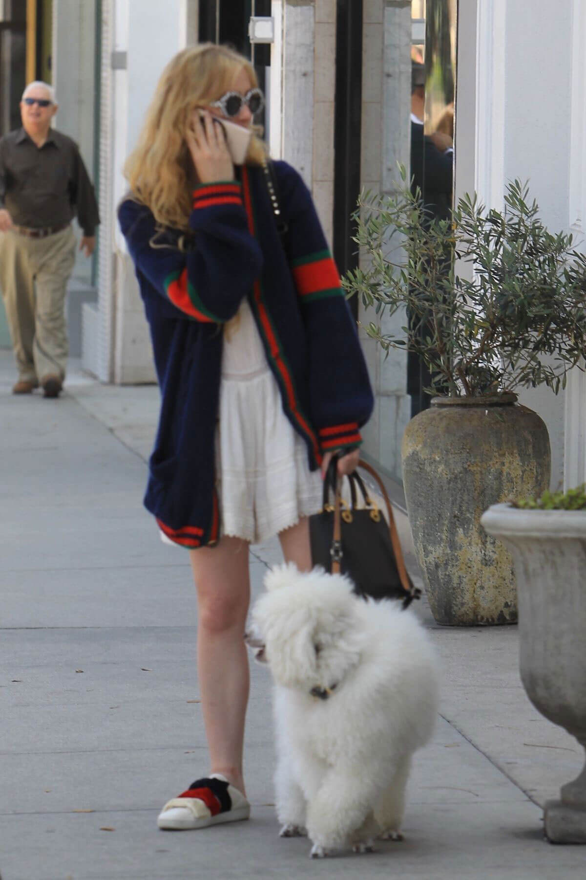 Kathryn Newton Out with Her Dog on Rodeo Drive in Beverly Hills 2018/06/20 1