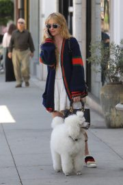 Kathryn Newton Out with Her Dog on Rodeo Drive in Beverly Hills 2018/06/20 3