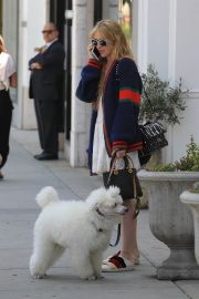 Kathryn Newton Out with Her Dog on Rodeo Drive in Beverly Hills 2018/06/20 4