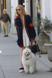 Kathryn Newton Out with Her Dog on Rodeo Drive in Beverly Hills 2018/06/20 10