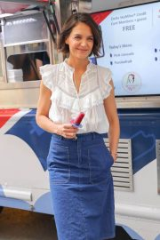 Katie Holmes at Perksicle Tour Event at Rockefeller Center in New York 2018/06/21 2