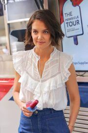 Katie Holmes at Perksicle Tour Event at Rockefeller Center in New York 2018/06/21 3
