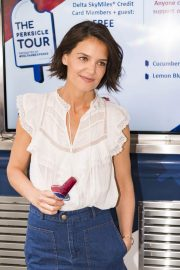 Katie Holmes at Perksicle Tour Event at Rockefeller Center in New York 2018/06/21 7