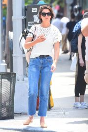 Katie Holmes in Jeans Out in New York 2018/06/08 4