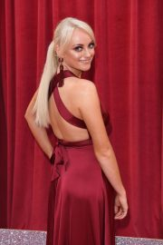 Katie McGlynn at British Soap Awards 2018 in London 2018/06/02 2