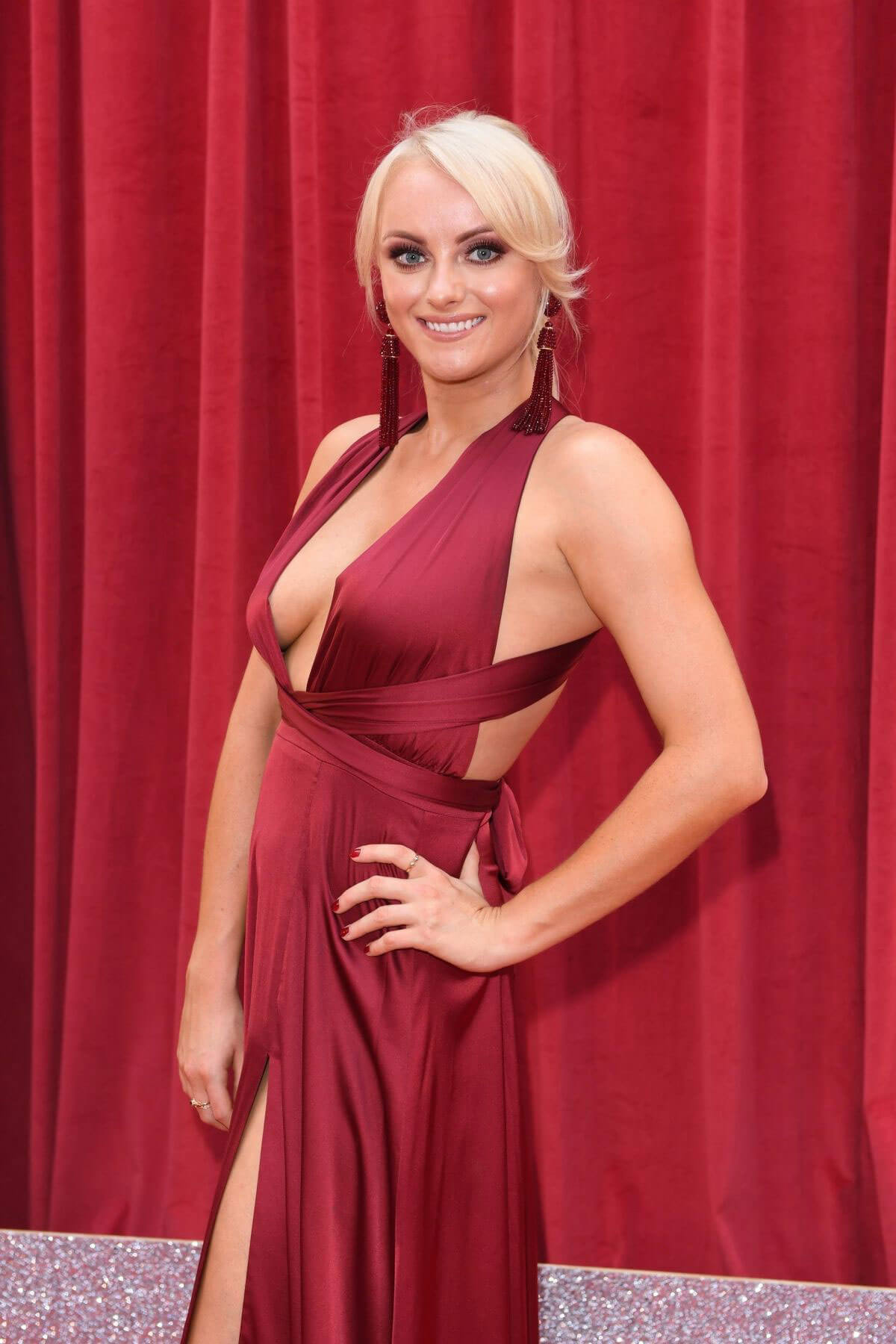 Katie McGlynn at British Soap Awards 2018 in London 2018/06/02 4