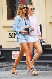 Kelly Killoren Bensimon and Thadeus Ann Bensimon Out in New York 2018/05/30 2