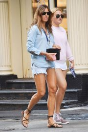 Kelly Killoren Bensimon and Thadeus Ann Bensimon Out in New York 2018/05/30 5