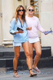 Kelly Killoren Bensimon and Thadeus Ann Bensimon Out in New York 2018/05/30 11