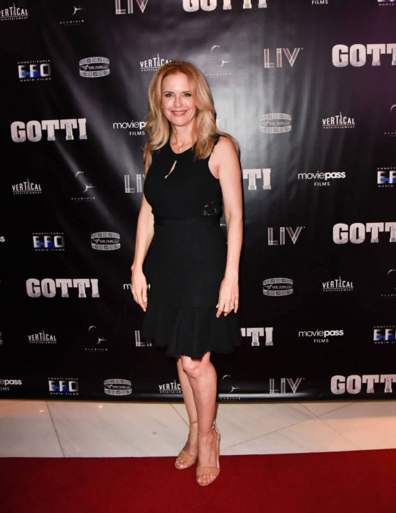 Kelly Preston Stills at Gotti Release Party in Miami 2018/06/07 1