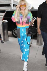 Kesha at LAX Airport in Los Angeles 2018/06/04 10