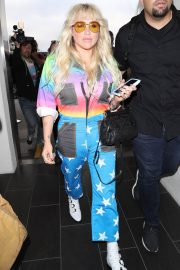 Kesha at LAX Airport in Los Angeles 2018/06/04 12