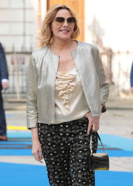 Kim Cattrall at Royal Academy of Arts Summer Exhibition Preview Party in London 2018/06/06 11