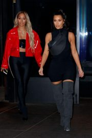 Kim Kardashian and Lala Anthony head out to see a secret NAS concert with Kanye West in Queens 2018/06/14 1
