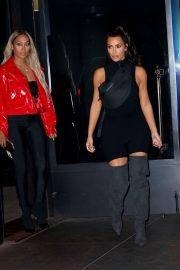 Kim Kardashian and Lala Anthony head out to see a secret NAS concert with Kanye West in Queens 2018/06/14 2