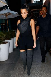 Kim Kardashian and Lala Anthony head out to see a secret NAS concert with Kanye West in Queens 2018/06/14 11