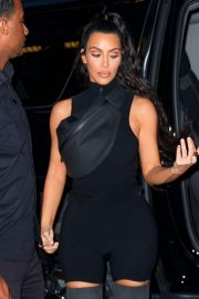 Kim Kardashian and Lala Anthony head out to see a secret NAS concert with Kanye West in Queens 2018/06/14 13