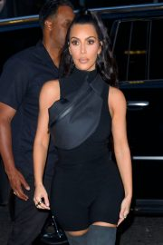 Kim Kardashian and Lala Anthony head out to see a secret NAS concert with Kanye West in Queens 2018/06/14 14