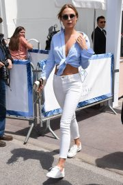 Kimberley Garner Stills Out and About in Cannes 2018/05/15 4