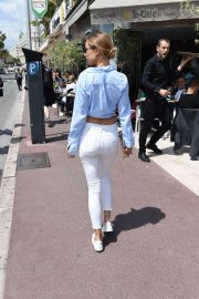 Kimberley Garner Stills Out and About in Cannes 2018/05/15 11