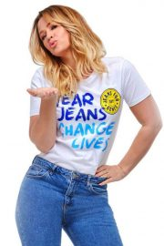 Kimberley Walsh and Una Healy for Jeans for Genes, 2018 3