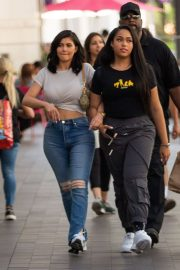 Kylie Jenner and Jordyn Woods Out in Calabasas 2018/06/08 1