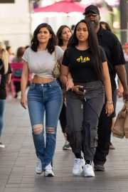 Kylie Jenner and Jordyn Woods Out in Calabasas 2018/06/08 2