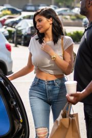 Kylie Jenner and Jordyn Woods Out in Calabasas 2018/06/08 11