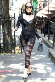 Lady Gaga Out in New York 2018/05/30 15