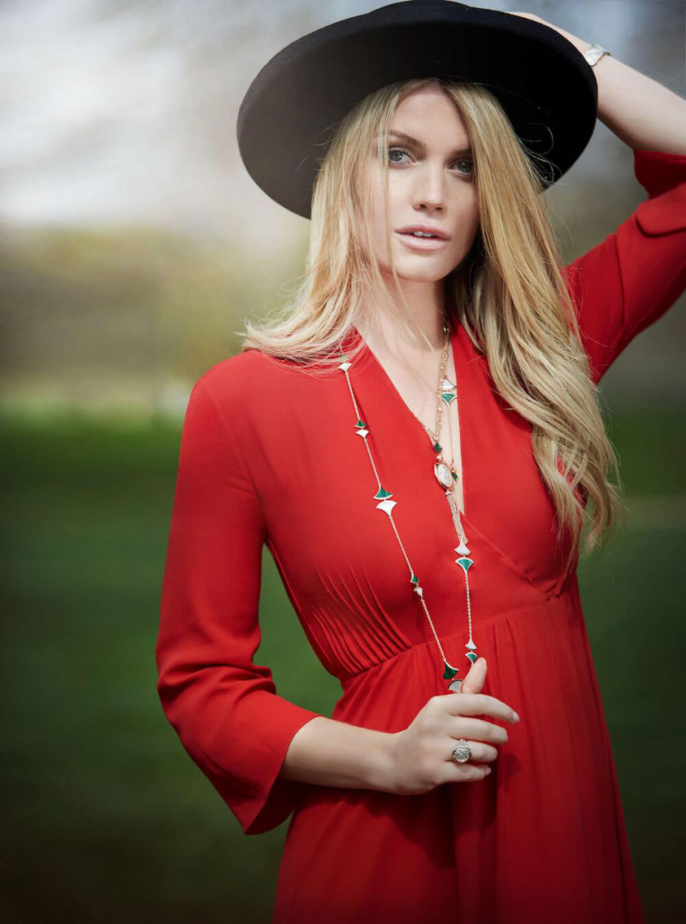 Lady Kitty Spencer for Bvlgari Photoshoot 2018 5