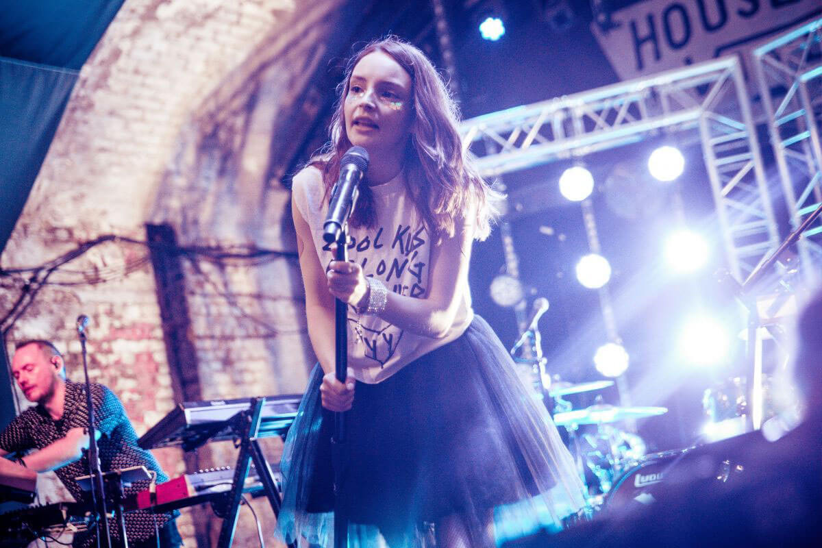 Lauren Mayberry Performs at House of Vans in London 2018/05/25 1