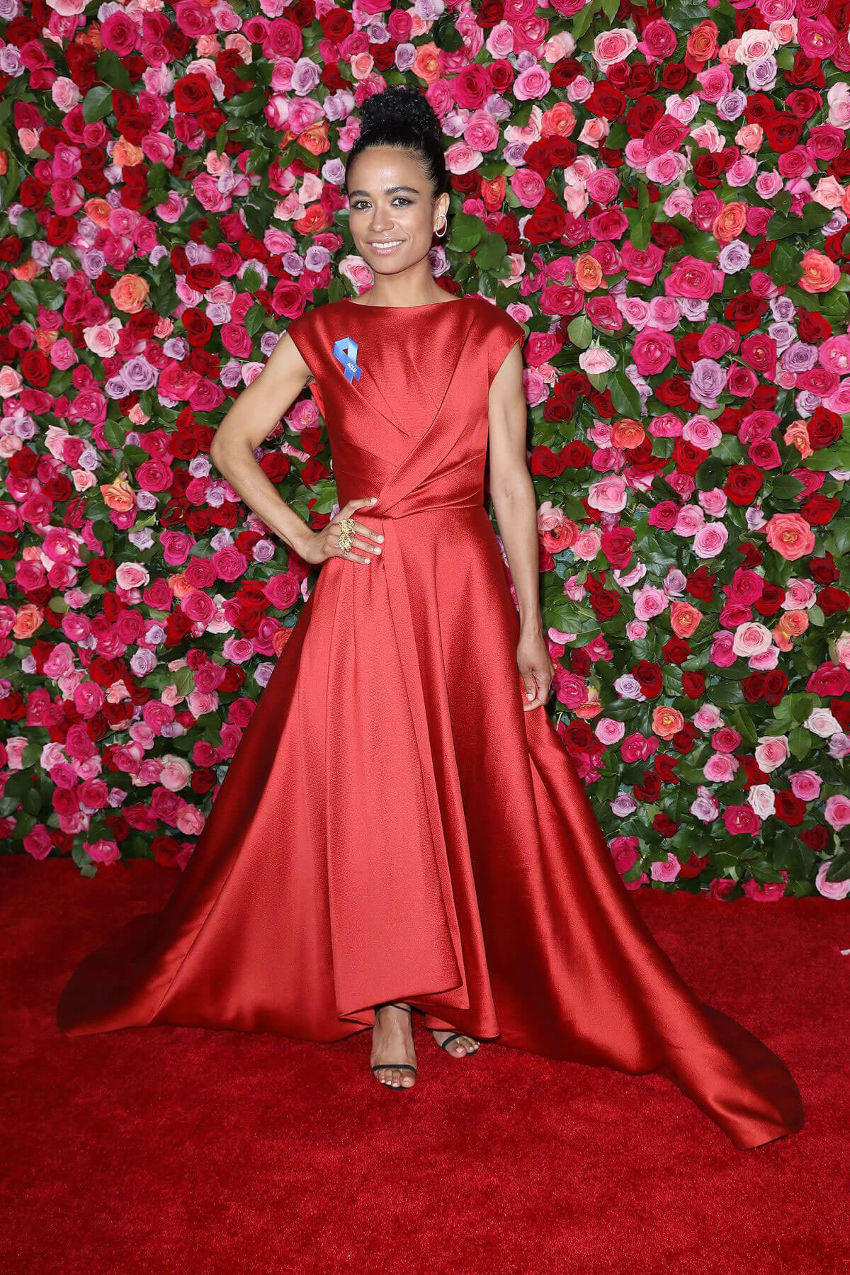 Lauren Ridloff at 2018 Tony Awards in New York 2018/06/10 1