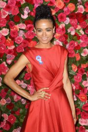 Lauren Ridloff at 2018 Tony Awards in New York 2018/06/10 13