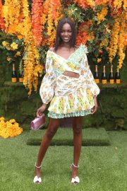 Leomie Anderson at Veuve Clicquot Polo Classic 2018 in New Jersey 2018/06/02 1