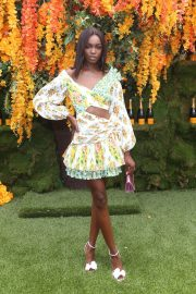 Leomie Anderson at Veuve Clicquot Polo Classic 2018 in New Jersey 2018/06/02 3