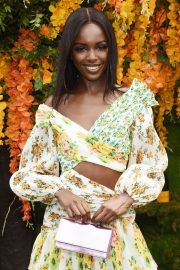 Leomie Anderson at Veuve Clicquot Polo Classic 2018 in New Jersey 2018/06/02 5