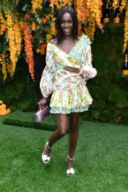 Leomie Anderson at Veuve Clicquot Polo Classic 2018 in New Jersey 2018/06/02 7