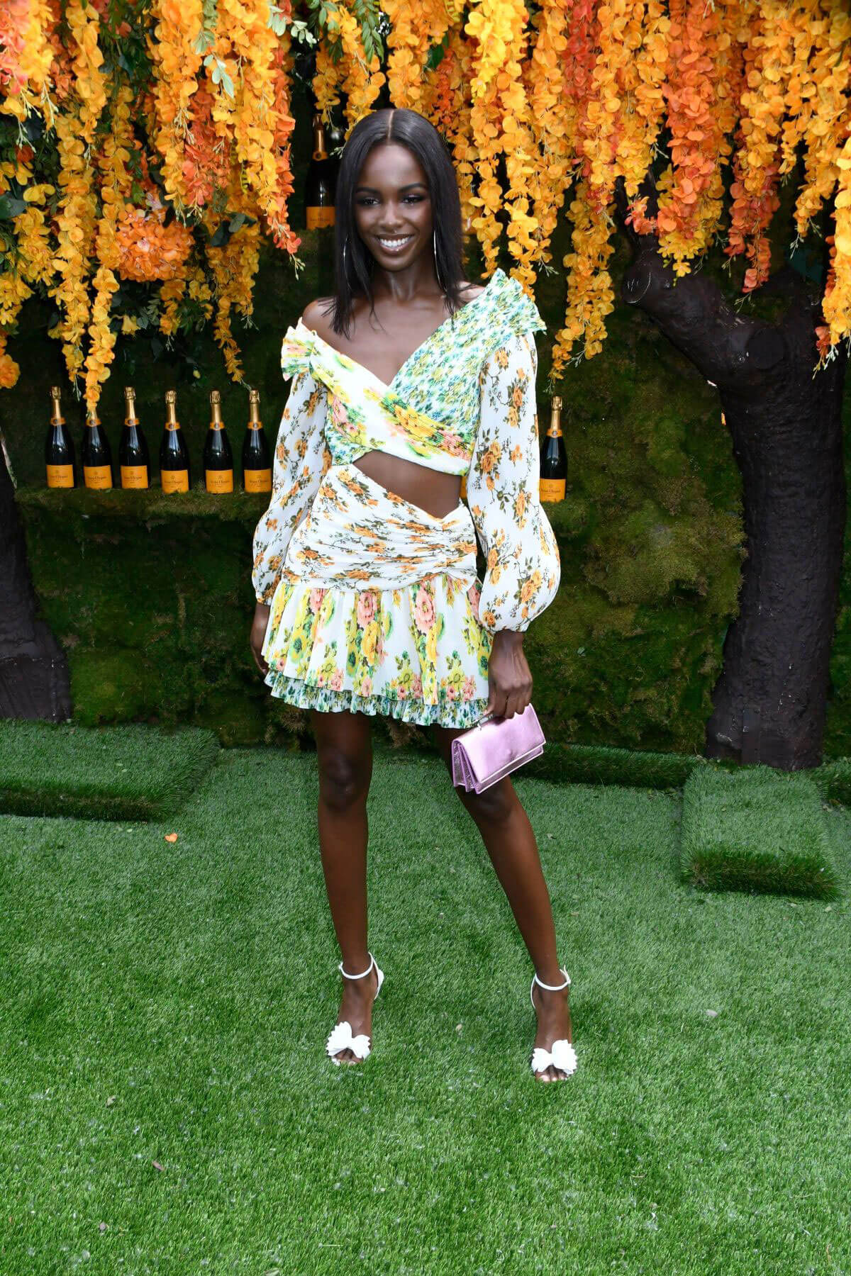 Leomie Anderson at Veuve Clicquot Polo Classic 2018 in New Jersey 2018/06/02 9