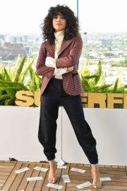 Lex Scott Davis at Superfly Photocall in Los Angeles 2018/06/03 10