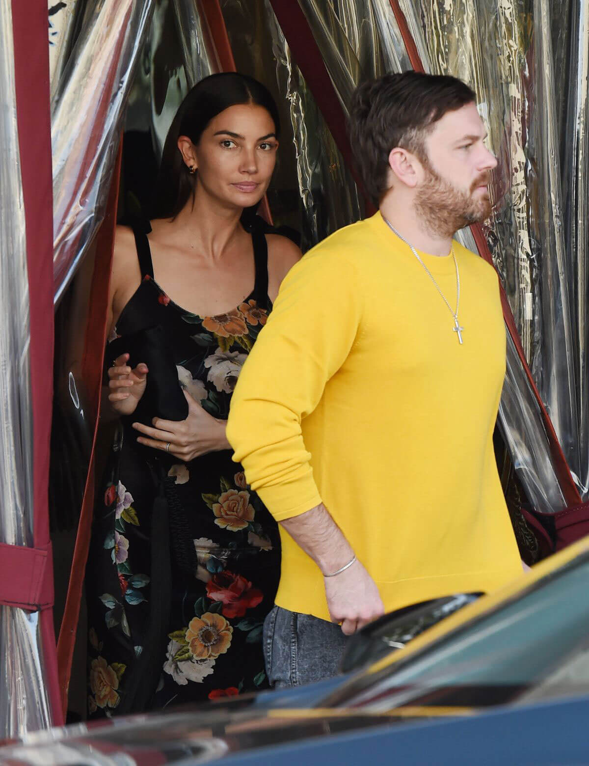 Lily Aldridge and Caleb Followill Out for Dinner in Los Angeles 2018/06/20 1