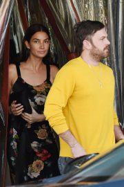Lily Aldridge and Caleb Followill Out for Dinner in Los Angeles 2018/06/20 10