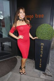 Lizzie Cundy at Mango Tree Opening in London 2018/06/01 2