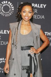 Logan Browning at An Evening with Dear White People at Paley Center 2018/06/05 1