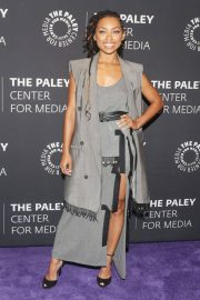 Logan Browning at An Evening with Dear White People at Paley Center 2018/06/05 8